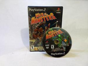 War Of The Monsters Ps2 Gamers Code**