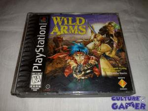 Wild Arms 1 Completo Para Tu Ps1; Ps2, Ps3 En Culture Gamer