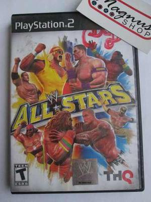 Wwe All Stars Para Playstation 2 Ps2 Luchas Usado Enviograti