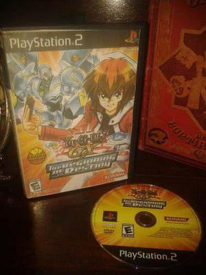 Yu Gi Oh Gx The Beginning Of Destiny Juegazo Para Tu Ps2