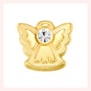 Aretes Broqueles En Oro Solido 10k Mod Angelitos