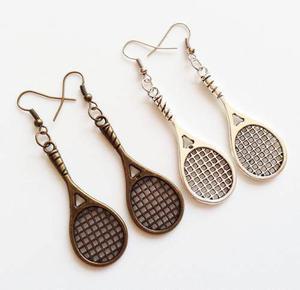Aretes De Raqueta De Tenis Dije Raqueta Dije Tenis