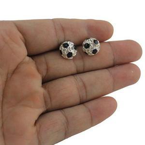Aretes Fútbol Dije Balón Fútbol Soccer Regalo Aretes Moda