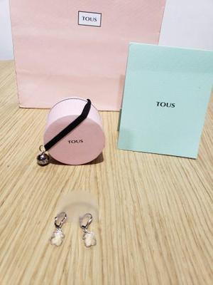 Aretes Tous Ice Oro Oso Tous 100% Original Tous Tiffany Tous