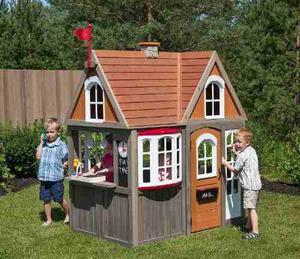 Casita Niños Infantil Madera De Cedro Premium Casa