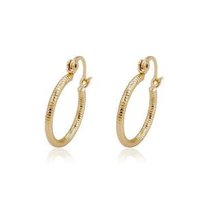 Hermosas Arracadas Diamantandas De Oro Lam