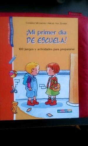 Libro Mi Primer Dia de Escuela Catherine MetzMeyer