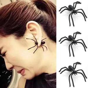 Par De Aretes Divertidos En Forma De Araña