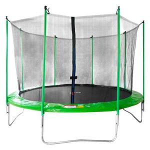 Trampolin Brincolin Infantil Con Red 3.6 M 12 Pies Verde
