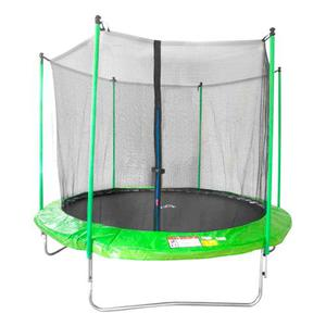 Trampolin Brincolin Infantil Con Red 3 M 10 Pies Verde