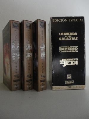 Vendo Trilogìa de la Guerra de las Galaxias Edición