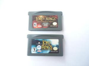 2 Juegos De Lord Of The Rings Para Gameboy Advance
