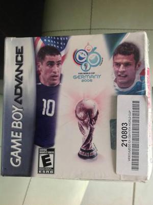 2006 Fifa World Cup Game Boy Advance Sellado