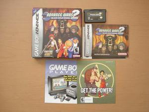Advacne Wars 2 Para Game Boy Advance - Rtg Completo +++++