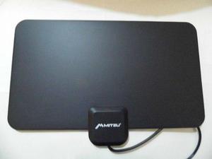 Antena Hd Tv Interior Lcd Led Plasma Fm+antena Pvc Gratis