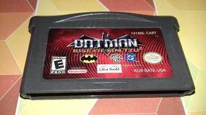 Batman Rise Of Sintzu De Game Boy Advance,funcionando.