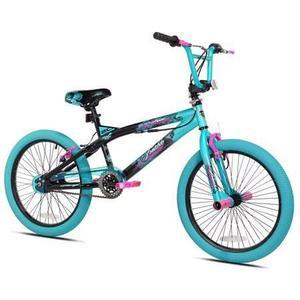 Bicicleta Bmx Rodada 20 Para Niñas Kent Trouble Aqua