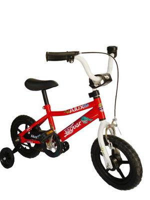 Bicicleta Infantil Para Niño Rodada 12 Llantas Entrenadoras