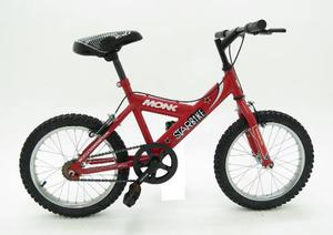 Bicicleta Monk Starbike Rodada 16 De Niño 1 Velocidad