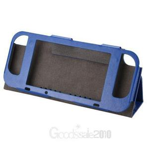 Blue-pu Cuero Caso Cubierta Protectora Interruptor Nint-3124