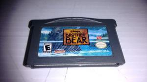 Brother Bear Para Nintendo Game Boy Advance,excelente Titulo