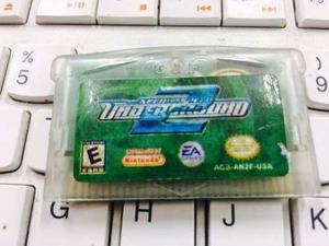 Cartucho De Game Boy Advance Need For Speed Underground