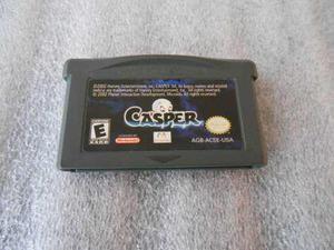 Casper De Game Boy Advance,gba,funcionando.