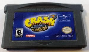 Crash N-tranced Game Boy Advance Gba Cartucho Retromex Tcvg