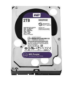 Disco Duro 2tb Wd Purple Wd20purz Especial Para Cctv