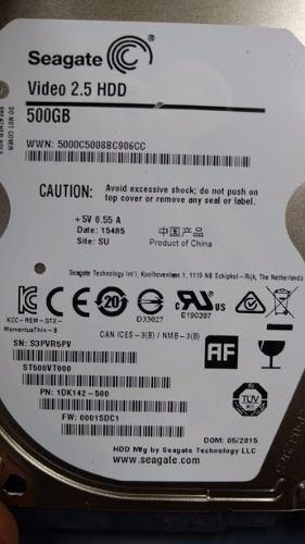 Disco Duro 500 Gb 2,5 Seagate Slim Sata