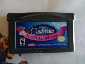 Disney Cinderella Magical Dreams Original Game Boy Advance