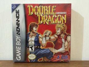 Double Dragon Advance Para Gameboy Advance Gba Nuevo Sellado