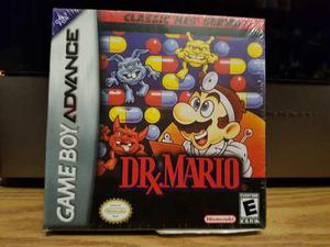 Dr. Mario Nuevo Gameboy Advance - Nintendo Gba & Nds
