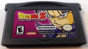 Dragon Ball Z Card Game Game Boy Advance Gba Retromex Tcvg