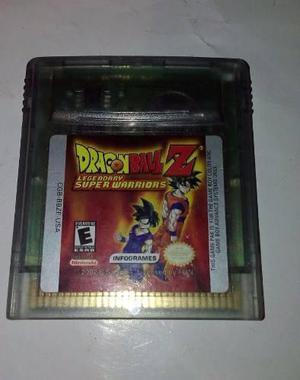 Dragon Ball Z Legendary Super Warriors Para Gameboy Color