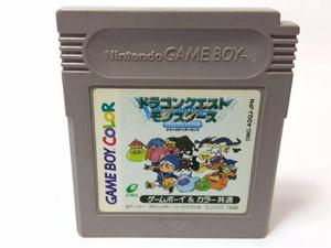 Dragon Quest Monsters Terry No Wonderland Game Boy Color Gba