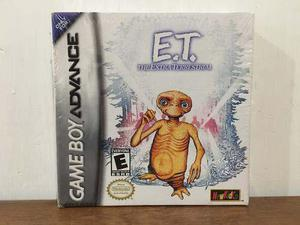 E.t. The Extra Terrestrial Para Game Boy Advance Gba Nuevo