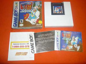 Earth Worm Jim Game Boy Color Completo En Caja