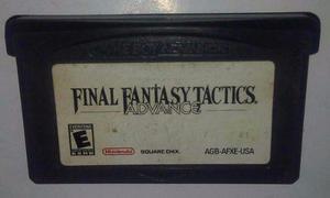 Final Fantasy Tactics Para Gameboy Advance Gba