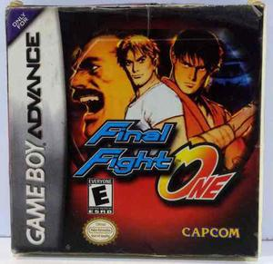 Final Fight One Game Boy Advance Gba Completo Retromex Tcvg