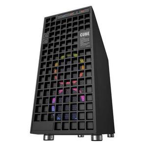 Gabinete Eagle Warrior Cube Negro - Atx Usb 3.0 Led