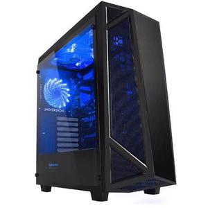 Gabinete Gamer Raidmax Sigma Negro Cristal Templado Usb3.0