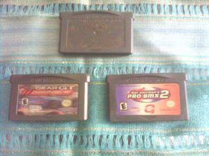 Game Boy Advance Cartuchos