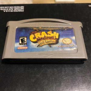Game Boy Advance Crash Bandicoot Xs