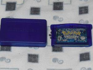 Game Boy Advance Juego Pokemon Sapphire Original Nintendo