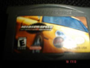 Game Boy Advance Need For Speed Porshe Unleashed Gba