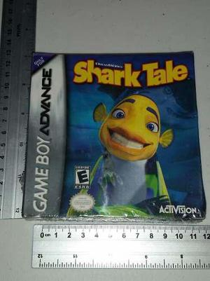 Game Boy Advance Shark Tale Sellado