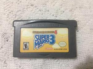Gameboy Advance Super Mario Bros 3 Original