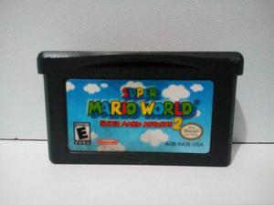 Gameboy Advance Super Mario World Super Mario Advance 2
