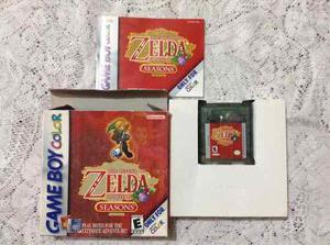 Gameboy Color Legend Of Zelda Oracle Of Season
